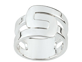 Ring Cacharel simples (CAR243), Sterling Silver 0,925 - $42.00