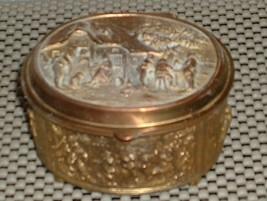 Art Deco Jewelry / Trinket Box - $15.00