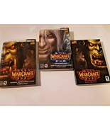 Lot of 3 Warcraft Game Manuals Frozen Throne Expansion (1), Reign of Cha... - $16.82