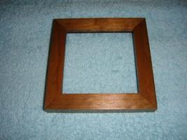 Wood Grain Cross Stitch Or Craft Frame - $13.49