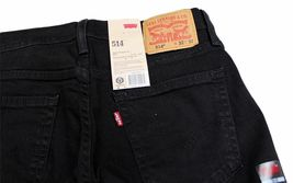 Levi's Strauss 514 Men's Original Slim Fit Straight Leg Jeans 514-0211 image 3