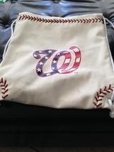 Washington Nationals team backpack sport cinch bag - $24.99