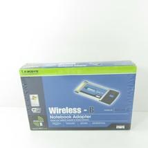 Linksys Wireless B Notebook Adapter Model WPC11 v4 - $11.69