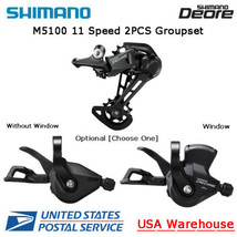 Shimano Deore M5100 11 Speed 2pcs Right Shifter + Rear Derailleur Groupset MTB - $114.99
