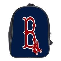 Backpack School Bag The Boston Red Sox Logo American Professional Baseball Team  - $33.00