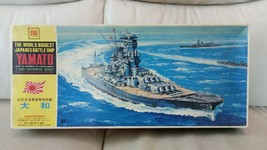 OTAKI 1/600 IJN Battleship Yamato Motoized plastic model kit, rare - $57.00