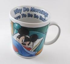 Disney Mickey Mouse Pluto Oversized Cup Coffee Mug 28 Oz - $17.10