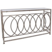 Uttermost 24306 Aniya Glass Top Console Table - $745.80
