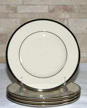 Lenox Montclair Presidential * 4 BREAD & BUTTER PLATES * Platinum, 2nd Q... - $21.77