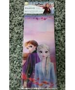 16 Disney Frozen II Party Cello Treat Gift Bags 9.5x4x2in With Ties Elsa... - $4.94
