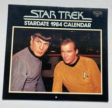 1984 Star Trek Calendar Pocket Books Wall Hanging - Unused - $11.96