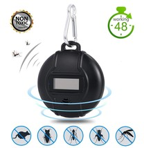 Portable Ultrasonic Outdoor Mosquito Repeller Micro USB Powered Pest - $21.95