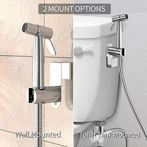 Yawenner Handheld Bidet Toilet Sprayer, Stainless Steel Bathroom Bidet Sprayer S image 4