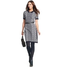 New Tommy Hilfiger Women's Short Sleeve Graphic Sweaterdress Size L Msrp... - $65.33
