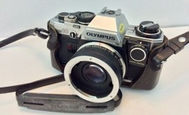 Olympus Om10 Camera With Manual Adapter And Auto 2x Tele-extender - $38.61