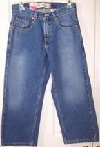NWT Levi's 569 Boy's Loose Straight Jeans, 8 Husky W28 L23 - $8.99