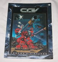 Cav Rulebook Reaper Miniatures #7700 Libro 2001 ed Pugh Combattimento Assalto - $12.31