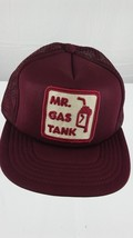 Vintage Mr. Gas Tank Hat Cap Trucker adjustable Snap Back - $18.80