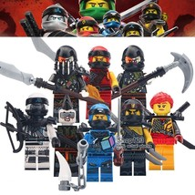 8pcs/set Game Ninjago Skylor Skullbreaker Jet Jack Zane Muzzle Cole Minifigures - $14.99