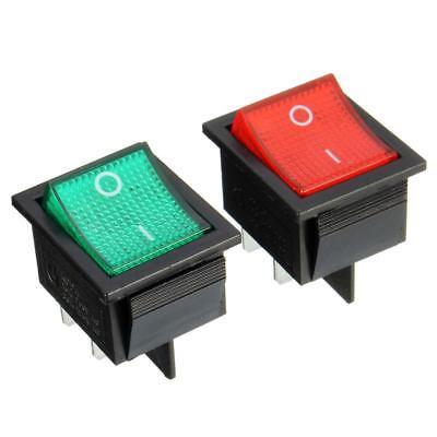 Hot Mini Rast Wippschalter Netzschalter I/O 4 Pins 16A 250VAC 20A 125VAC KCD4...