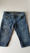 American Eagle Jean Shorts Womens Juniors Size 0 - $11.87