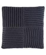 """Hotel Collection Linen Stripe 20"""" Square Decorative Pillow, Indigo - $69.29"""