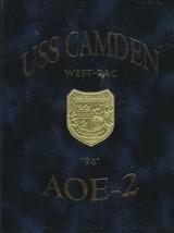 USS Camden (AOE-2) 1994 Westpac Indian Ocean Deployment Cruise Book Crui... - $247.50