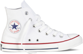 Women Converse Chuck Taylor All Star High Top Optical White M7650C - $857,54 MXN