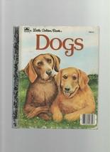 Dogs - Little Golden Book - Jean Lewis - HC - 1983 - Golden Books - 0335... - $4.49