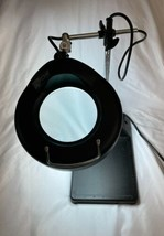 Industrial Vintage Adjustable Magnifying Desk Lamp Magnifier Light Magnify image 2