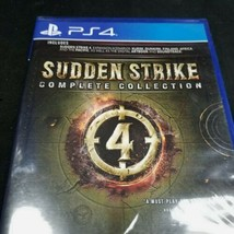 Sudden Strike 4 Complete Collection PlayStation 4 PS4 New Sealed - $32.66