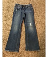 Girls I ❤️ Justice Jeans Sz 10R Simply Low - $5.00