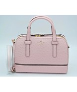 Kate Spade New York Riverside Street Pink Ostrich Leather Felix Satchel ... - $248.00