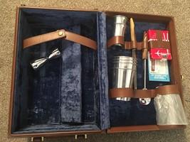 Vintage Mid-Century Picnic Case/Wine Bottle Case By Wear Best W/ Presto Lock - $39.99
