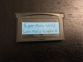 Super Mario World: Super Mario Advance 2 (GBA, 2002) Free Shipping - Shi... - $9.87