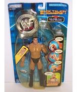 """2001 Jakk's Back Talkin' Slammers """"The Rock"""" Action Figure WWF WWE [362] - $11.87"""