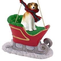 Conversation Concepts Borzoi Sleigh Ride Ornament - $18.99