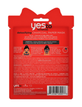 Yes To Tomatoes Detoxifying Charcoal Paper Mask - Lot of 6 Masks image 3