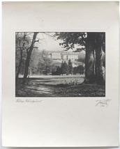 LG.VINT.1946 Vienna, Schoenbrunn Castle, art photo signed - $13.95