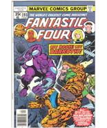 Fantastic Four Comic Book #193 Marvel Comics 1978 FINE - $6.89