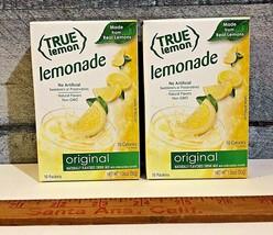 True Lemon Lemonade Non-GMO Drink Mix Singles to go (LOT OF 2) - $14.85
