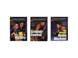 Frank Shamrock Training & Fighting 3 DVD Set MMA Grappling Fighting adva... - $69.95