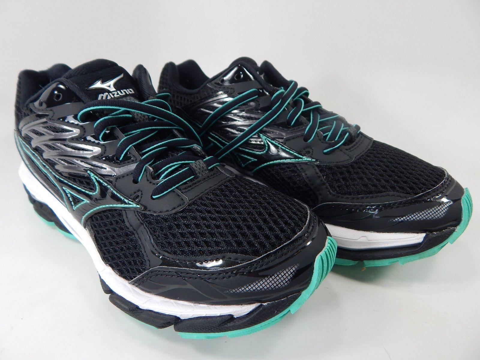 Mizuno Wave Paradox 3 Size US 7 M (B) EU 37 Women's Running Shoes Black Green