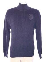 Polo Ralph Lauren 1/4 Zip Sweater Gothic P Tribeca Cotton SZ L NWT $185 - $71.97