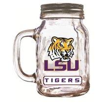 NCAA LSU Tigers Mason Jar, 20-Ounce - $24.53