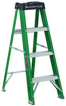 4-Ft. Ladder, Fiberglass, Type II, 225-Lb. Medium Duty Rating - $97.01