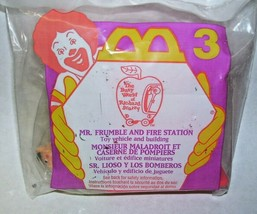 1995 McDonalds Toy Mr. Frumble and Fire Station MIP - $16.82