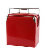 AmeriHome Retro Style Picnic Cooler - Red - $97.63