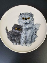 Goebel Cat Mothers Plate 1976 Persians FREE SHIP - $21.50