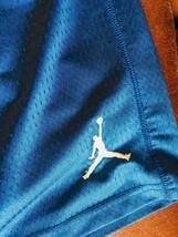 NIKE SHORTS Jordan Blue Athletic Basketball Shorts Boys 10-12 image 2